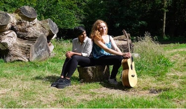 Naz & Ella are an Acoustic Indie Folk duo
