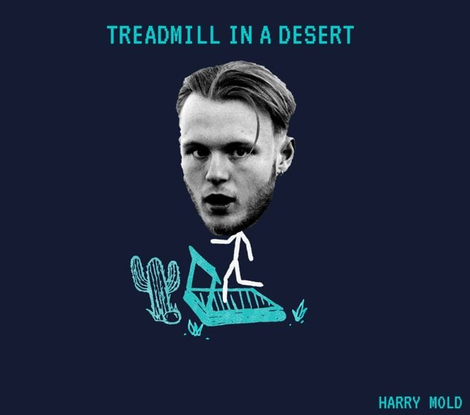 Gotta Prepare For The Storm: Harry Mold Releases Treadmill In A Desert